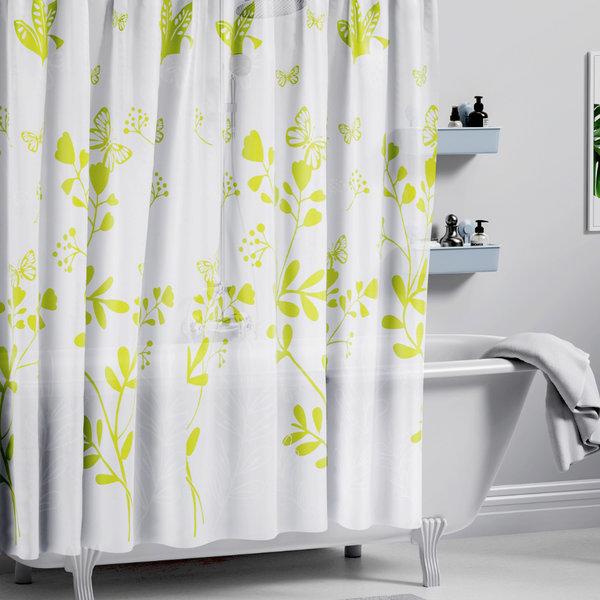 샤워커튼 그린숲 / EVA 욕실 화장실 방수 가림막 상품이미지