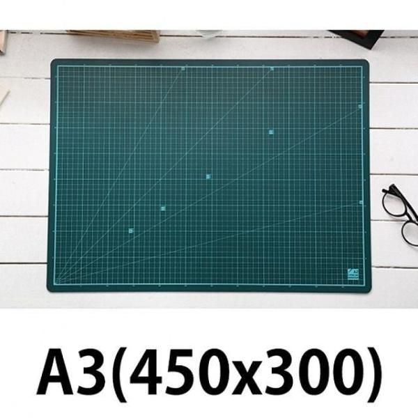윈스타 PVC녹색커팅매트 A3/450X300 상품이미지