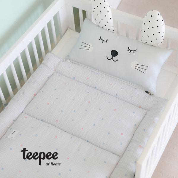 티피(teepee) 낮잠이불 패드+베개 일체형(솜포함) 상품이미지