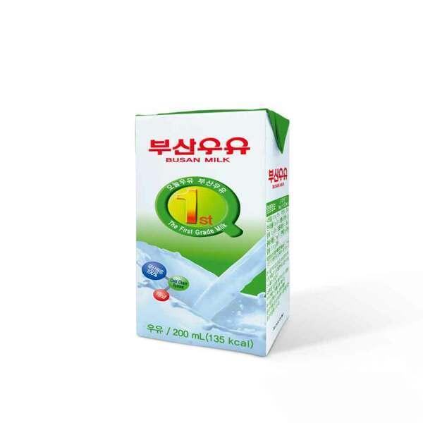 (현대Hmall)부산 멸균흰우유 200ml 48팩 상품이미지