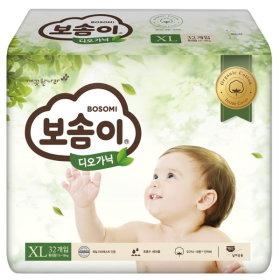 (1+1)깨끗한나라_보솜이디오가닉밴드형특대형_32매