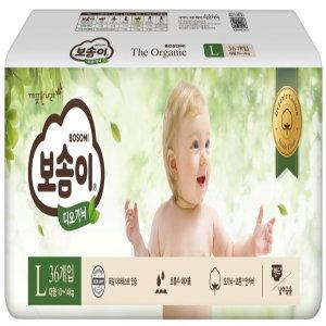[홈플러스](1+1)깨끗한나라_보솜이디오가닉밴드형대형_36매