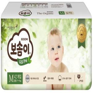 [홈플러스](1+1)깨끗한나라_보솜이디오가닉밴드형중형_42매