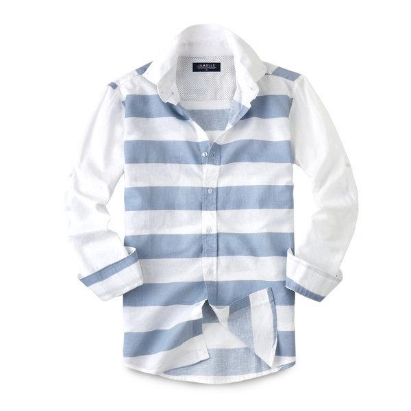린넨 스트라이프 셔츠 남방 159. 남성셔츠 남성남방 상품이미지