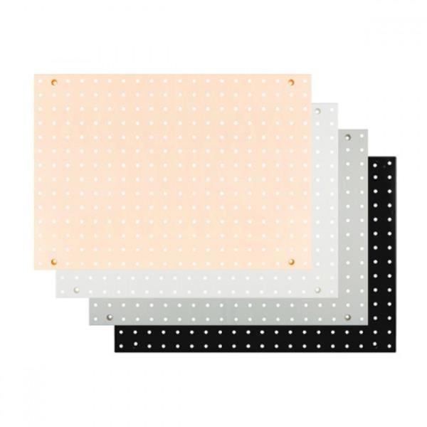 진열 페그보드 판 356x508x20 -6001 타공판 색상선택 상품이미지