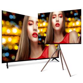UHDTV 50인치 4K 중소기업TV LED 티비 모니터 HDR지원
