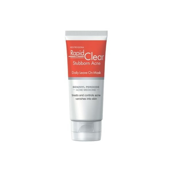 Neutrogena Rapid Clear Benzoyl Peroxide Leave-on Acne Face Mask  2 oz 상품이미지