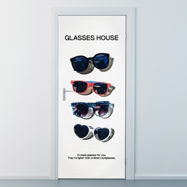 nces183-당신을 위한 안경-현관문시트지 상품이미지