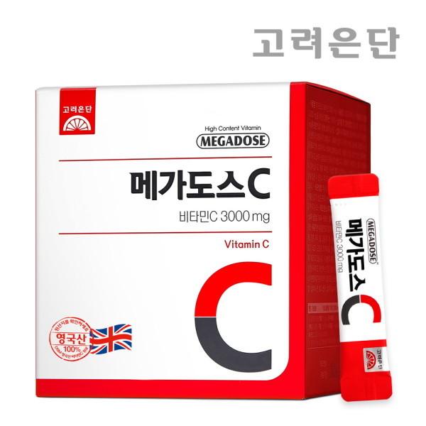 고려은단   본사직영  메가도스C3000 100포 분말 비타민씨 상품이미지