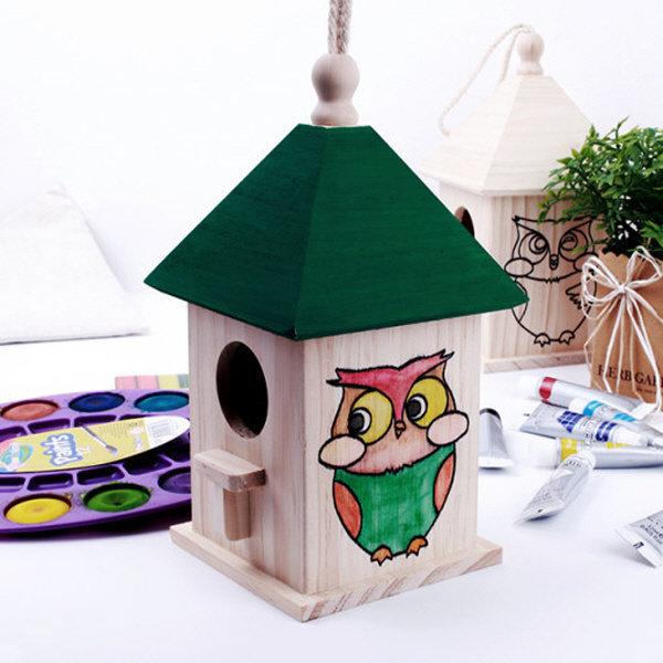민화 나무 새집 만들기. 미술 수업용 상품이미지