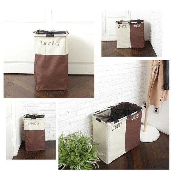 빨래바구니 라탄 세탁 욕실 바구니 용품 / 사각 (1단) 상품이미지