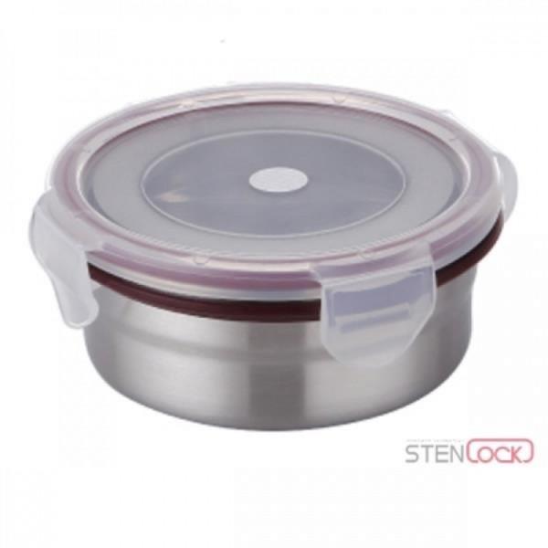 스텐락 클래식 원형 3호 (300ml) 스텐밀폐용기 상품이미지