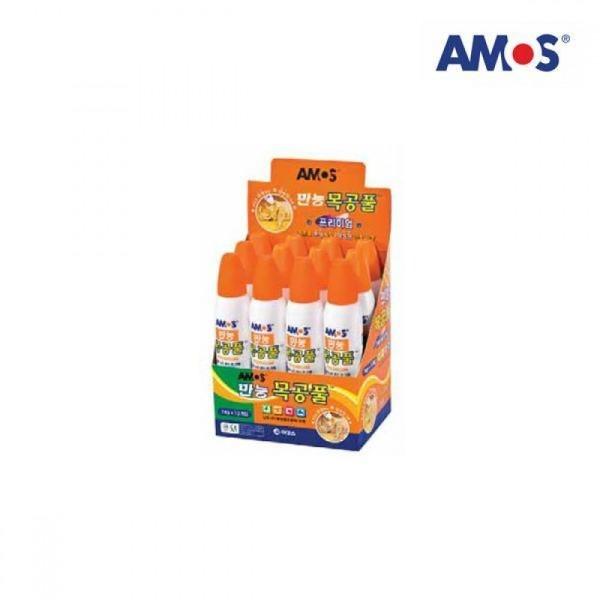AMOS 목공풀 74g 12개입 상품이미지