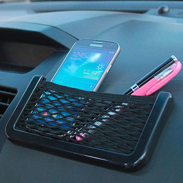 OMT 차량용 휴대폰 수납포켓 OCA-MSHP 망사 수납함 상품이미지