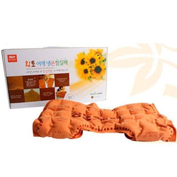 황토어깨냉온찜질팩 (면) 찜질 핫팩 찜질팩 냉온팩 상품이미지