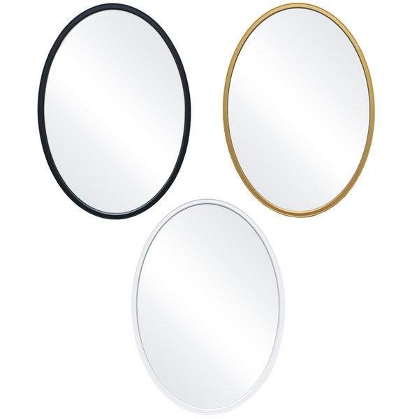 인테리어 벽거울 심플타원/화장대 욕실 화장실 거울 상품이미지