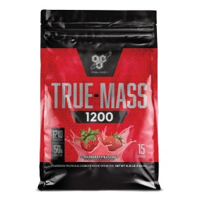 트루매스 1200 딸기 밀크 쉐이크 탄수화물 프로틴 15 서빙 단백질 보충제 4.7 kg  빠른직구