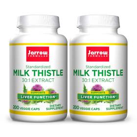 2개 Jarrow 밀크씨슬 밀크시슬 실리마린 150 mg 200 캡슐 빠른직구
