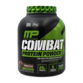 Combat 컴뱃 웨이 프로틴 파우더 초콜릿 밀크 52 서빙 BCAA 유청 단백질 보충제 1.8 kg 빠른직구
