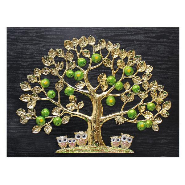 인테리어 벽걸이 장식 그림 액자 풋사과부엉이(특대) 상품이미지