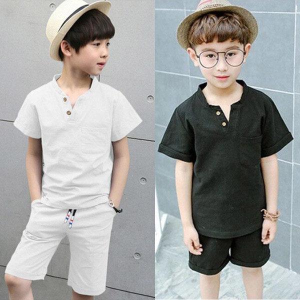 아동복 상하복 반바지 티셔츠 티 반팔티 아동 의류 상품이미지