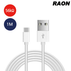 RAON USB-C타입 퀵차지 급속 고속 충전기 충전케이블