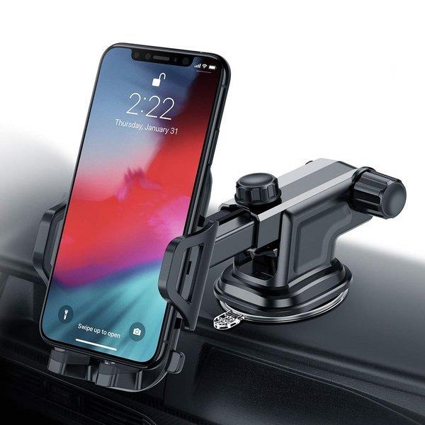 차량용 길이조절 휴대폰거치대 핸드폰 간편 한손거치 상품이미지