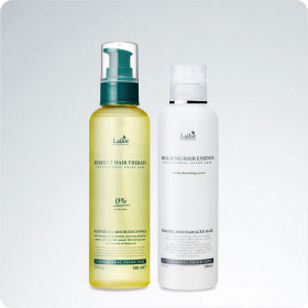 SILK-RING HAIR ESSENCE + PERFECT THERAPY 1+1