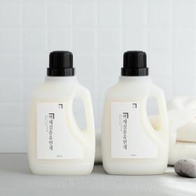 1+1 살림백서 섬유유연제 2L 대용량 (단하루)