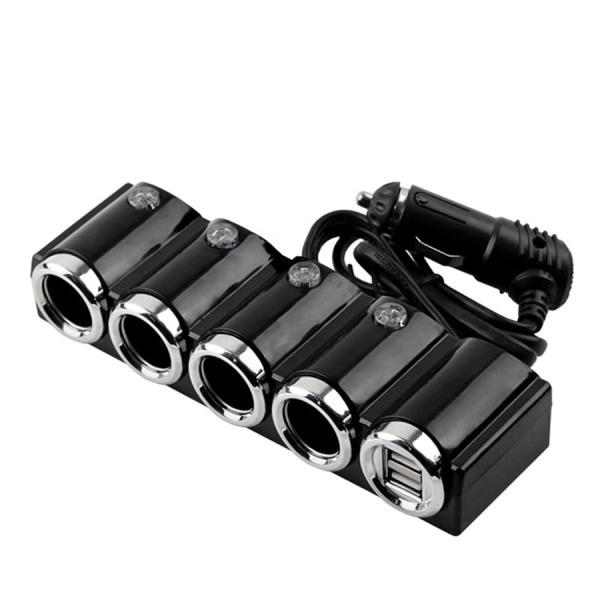 ITB762   Coms 차량용 시가 소켓(4구) USB 2P 상품이미지