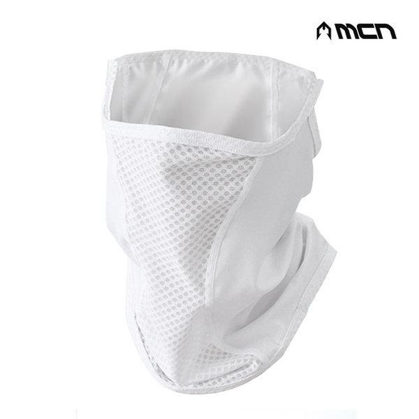 MCN SR1 매쉬마스크 (화이트) 자외선 차단 마스크 두건 상품이미지