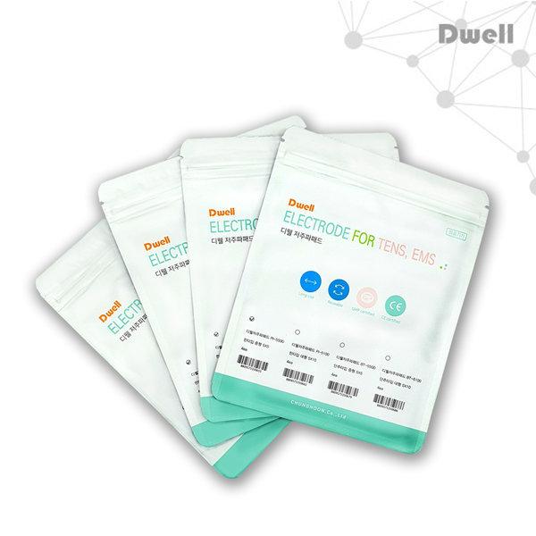 디웰 저주파패드 단추형 2조(낱4장) - 중 상품이미지
