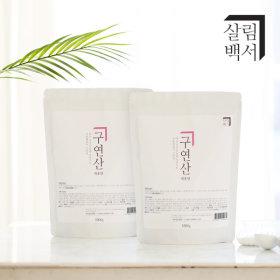 1+1 살림백서 구연산 1kg 대용량 리필형 (단하루)