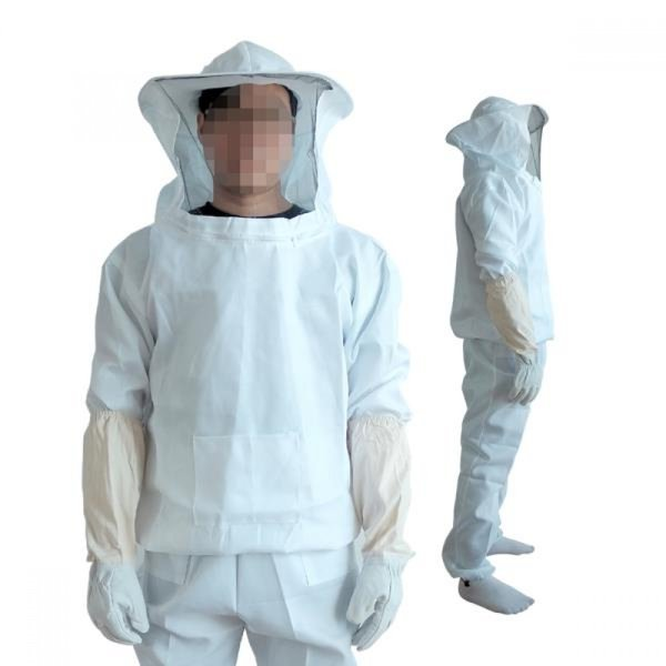 DF 면 양봉옷(상하의+양봉장갑) 벌망옷 벌초복 벌초옷 상품이미지
