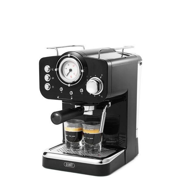 플랜잇 에스프레소 가정용 커피머신 블랙+4종선물 상품이미지