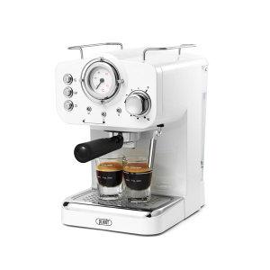 플랜잇 에스프레소 가정용 커피머신 화이트+4종선물