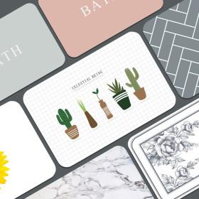 규조토 발매트 정품 예쁜디자인 욕실매트 M~L size
