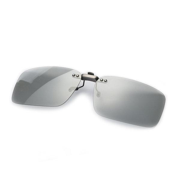 변색 편광 클립선글라스 안경 클립형 썬글라스 P3008 상품이미지