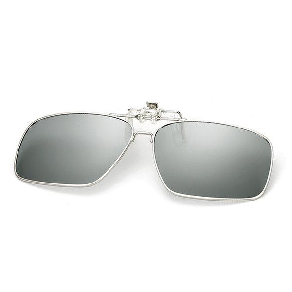 변색 편광 클립선글라스 안경 클립썬글라스 P3009R 상품이미지