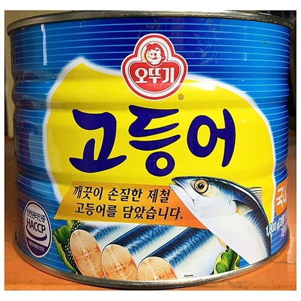 고등어캔(오뚜기 1 800g)/도깨비마켓 /지나몰 상품이미지
