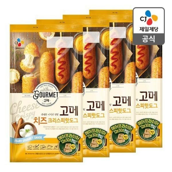 CJ  고메 치즈크리스피핫도그425g 5입  x 4봉 총20개 상품이미지