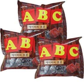 ABC 초콜릿 200GX3봉 대용량