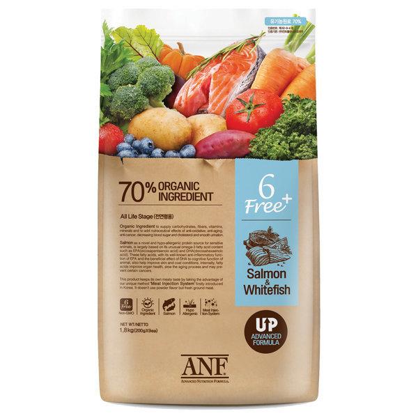 유기농 6Free 플러스 연어 5.6kg / 강아지/사료/애견 상품이미지