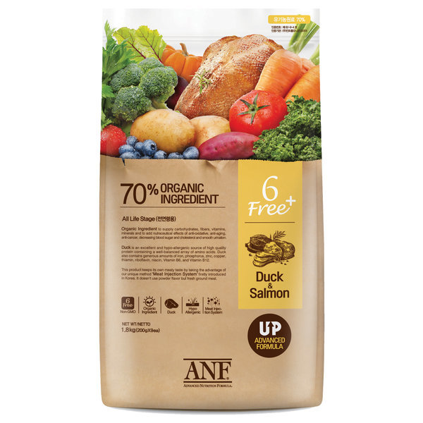 유기농 6Free 플러스 오리 5.6kg / 강아지/사료/애견 상품이미지