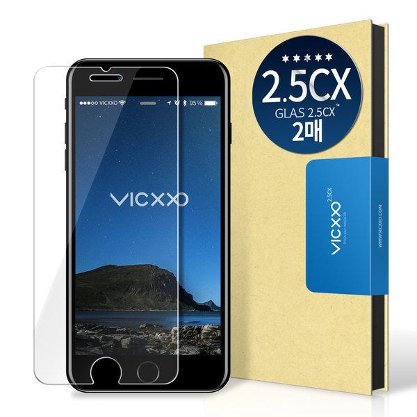 아이폰8/7플러스 2.5CX 액정보호 강화유리 필름 (2매) 상품이미지