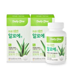 하루쾌변 알로에정 2병(18개월분) / 클로렐라 함유