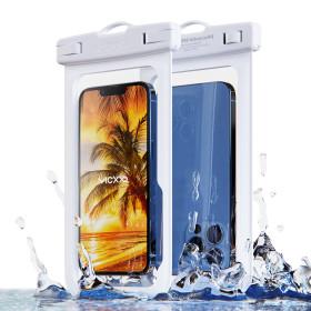1+1 IPX-8등급 핸드폰 휴대폰 방수팩 P1 화이트