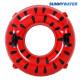 써니워터 수박 튜브120cm 원형 물놀이 보트 수영