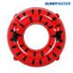 써니워터 수박 튜브100cm 원형 물놀이 보트 수영
