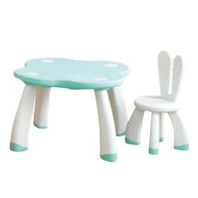 래빗테이블앤체어Y1749(택1)/유아책상의자/토끼가구